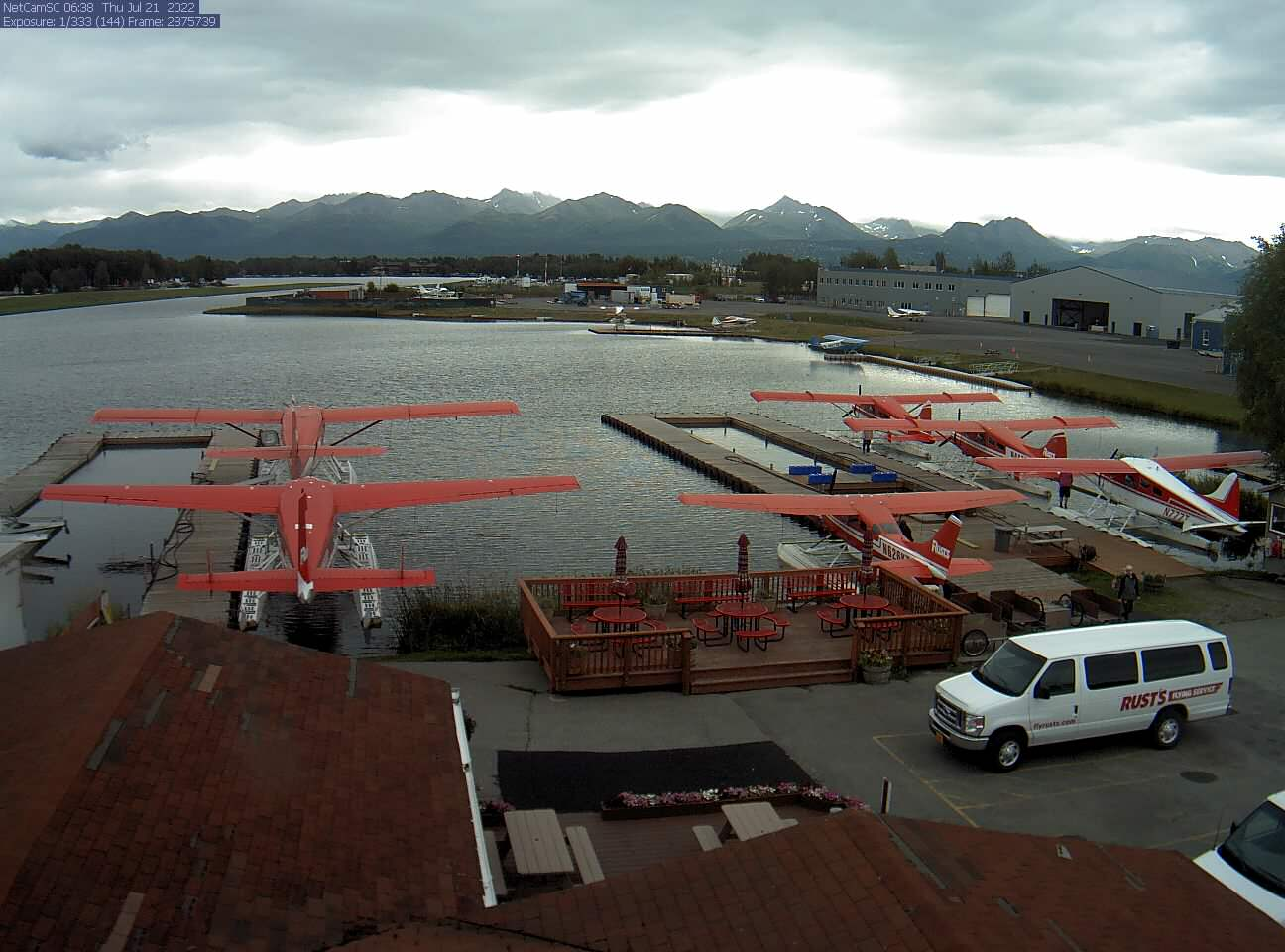 View of Rust's and Lake Hood